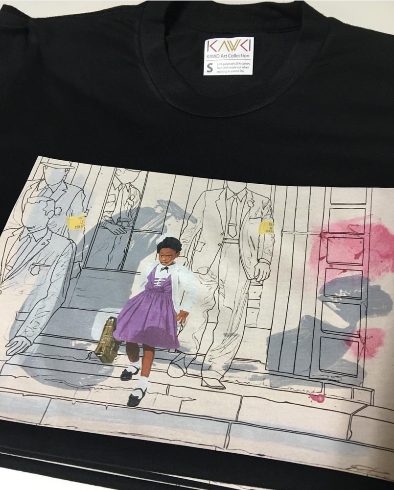 "Image of ""Brave Little Girl"" t shirt"