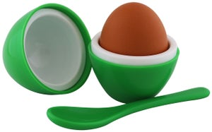 Image of Egg Per'fect Insulated Egg Cup & Tray Set