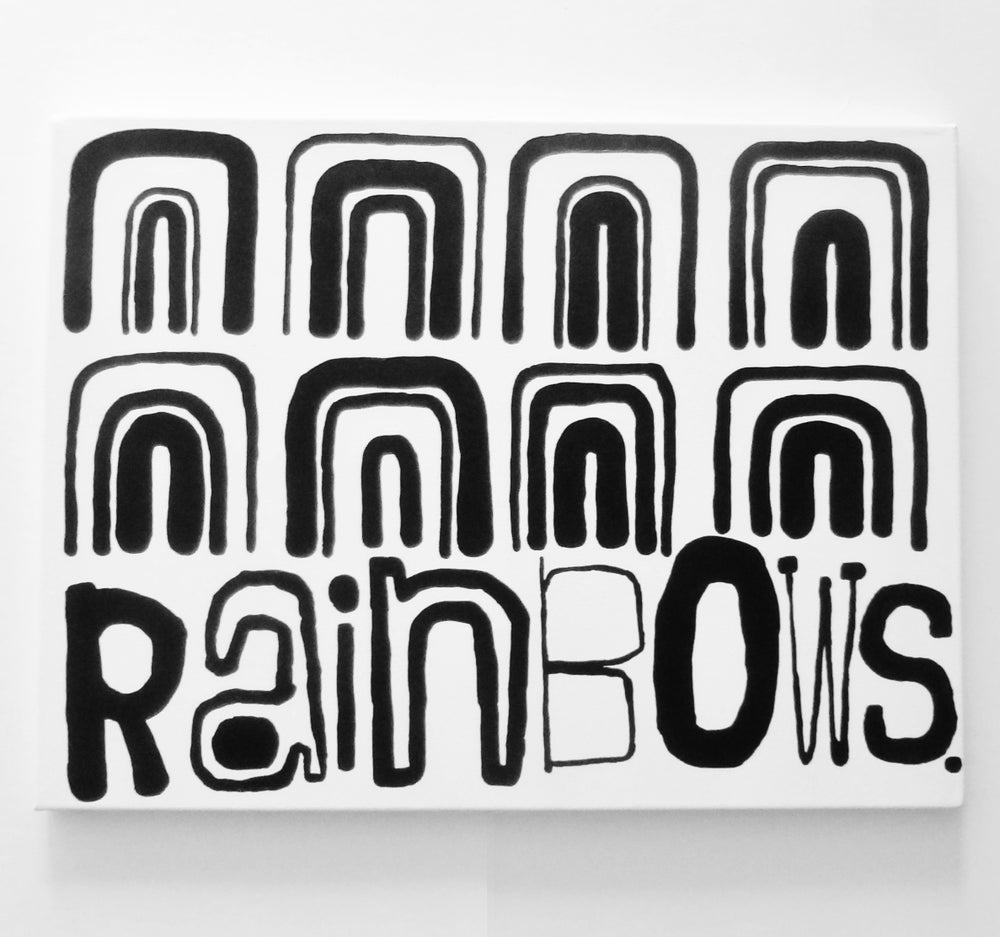 "Image of RAiNbOWS. - 18"" X 24"""
