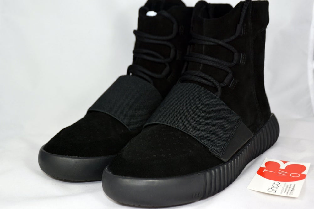 "Image of Adidas Yeezy Boost ""Triple Black"""