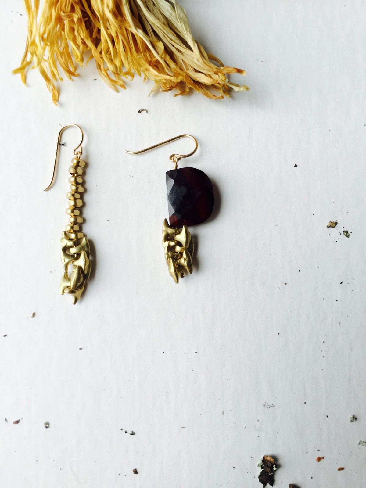 Image of Black Sage Earrings