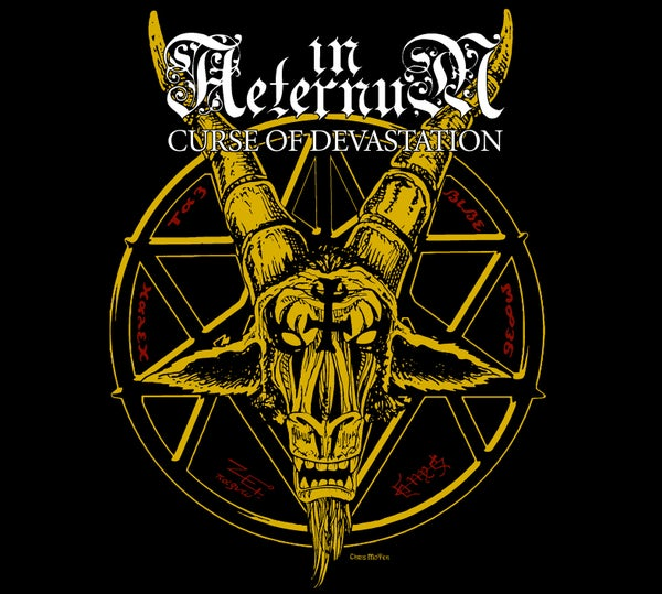"Image of IN AETERNUM ""Curse Of Devastation"" Digipak Mini CD"