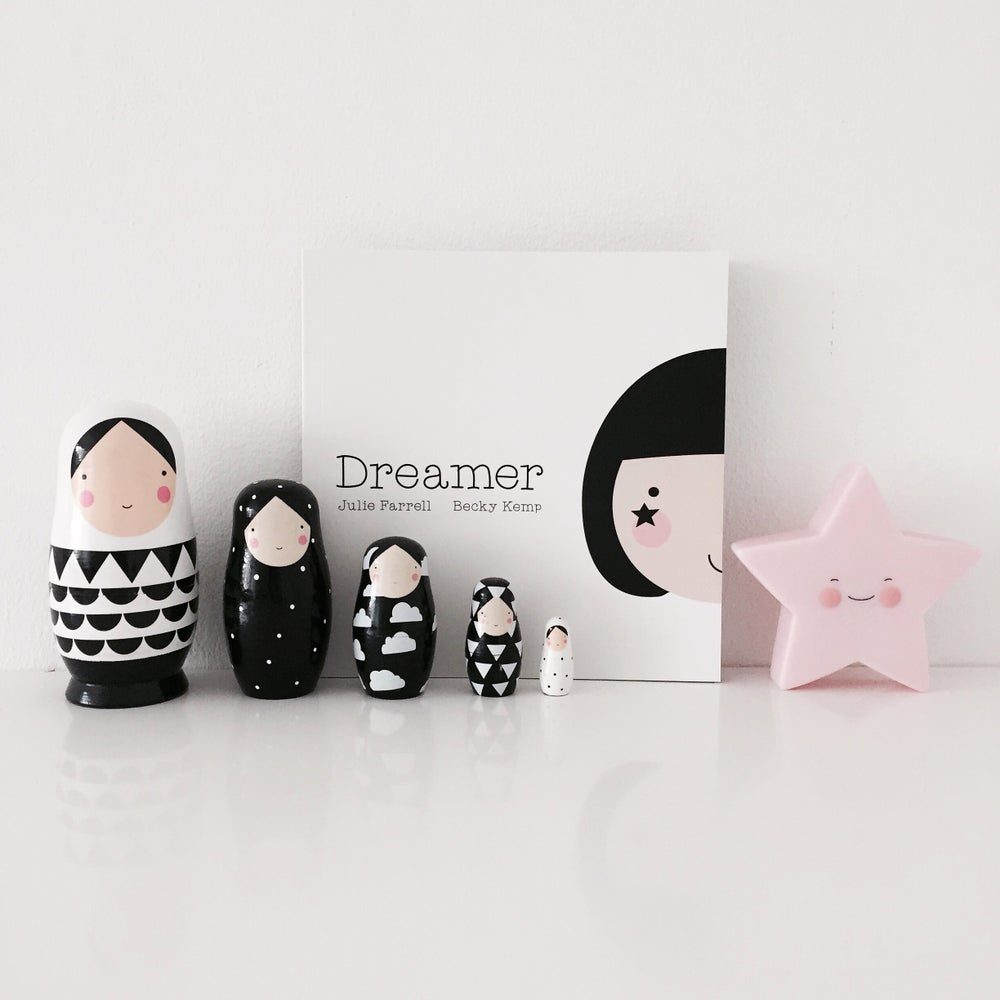 Image of Sketch Inc. nesting dolls