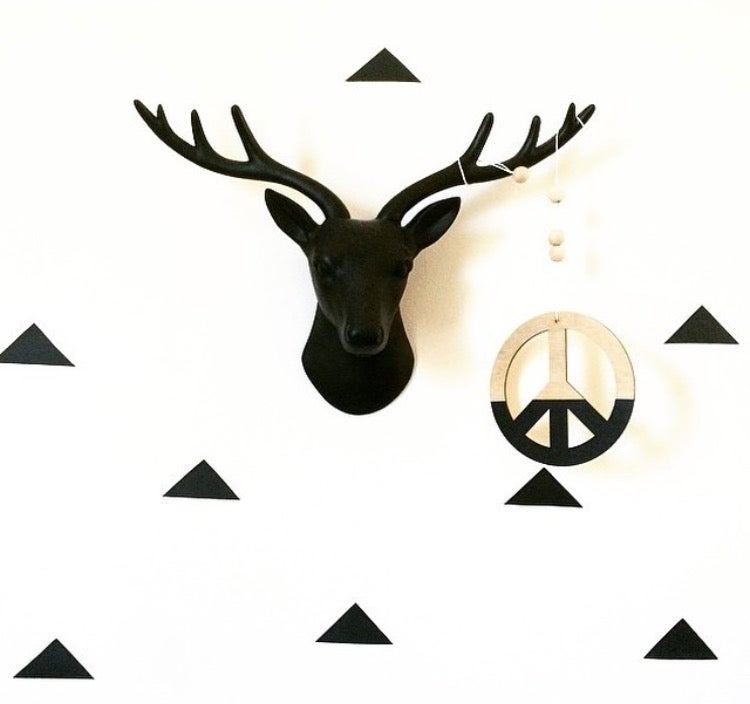 Image of PEACE WALL HANG | Black