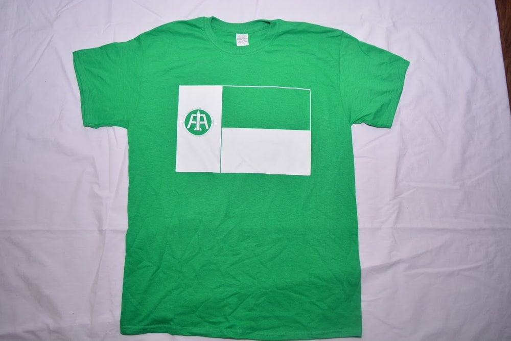 Image of Green Texas Flag Tee