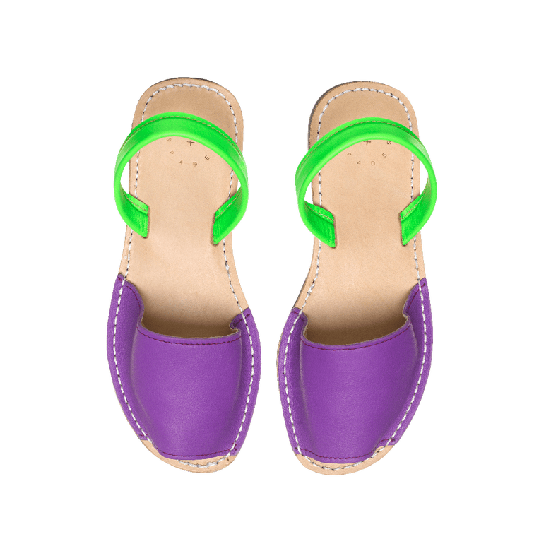 Image of Purple + Lime