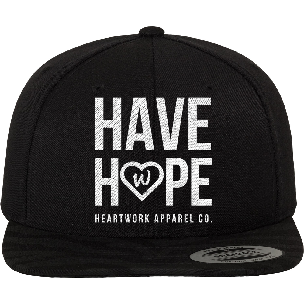 "Image of ""HAVE HOPE"" Snapback Hat"
