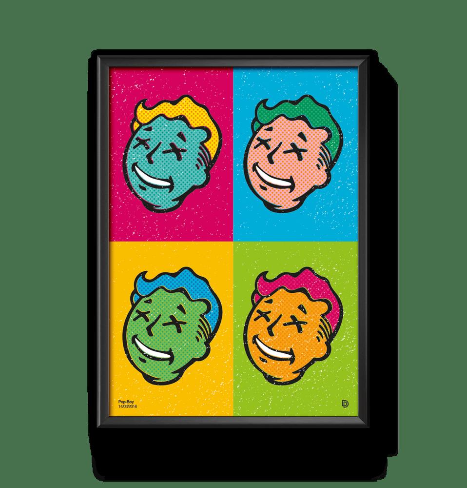 Image of Pop Boy Print