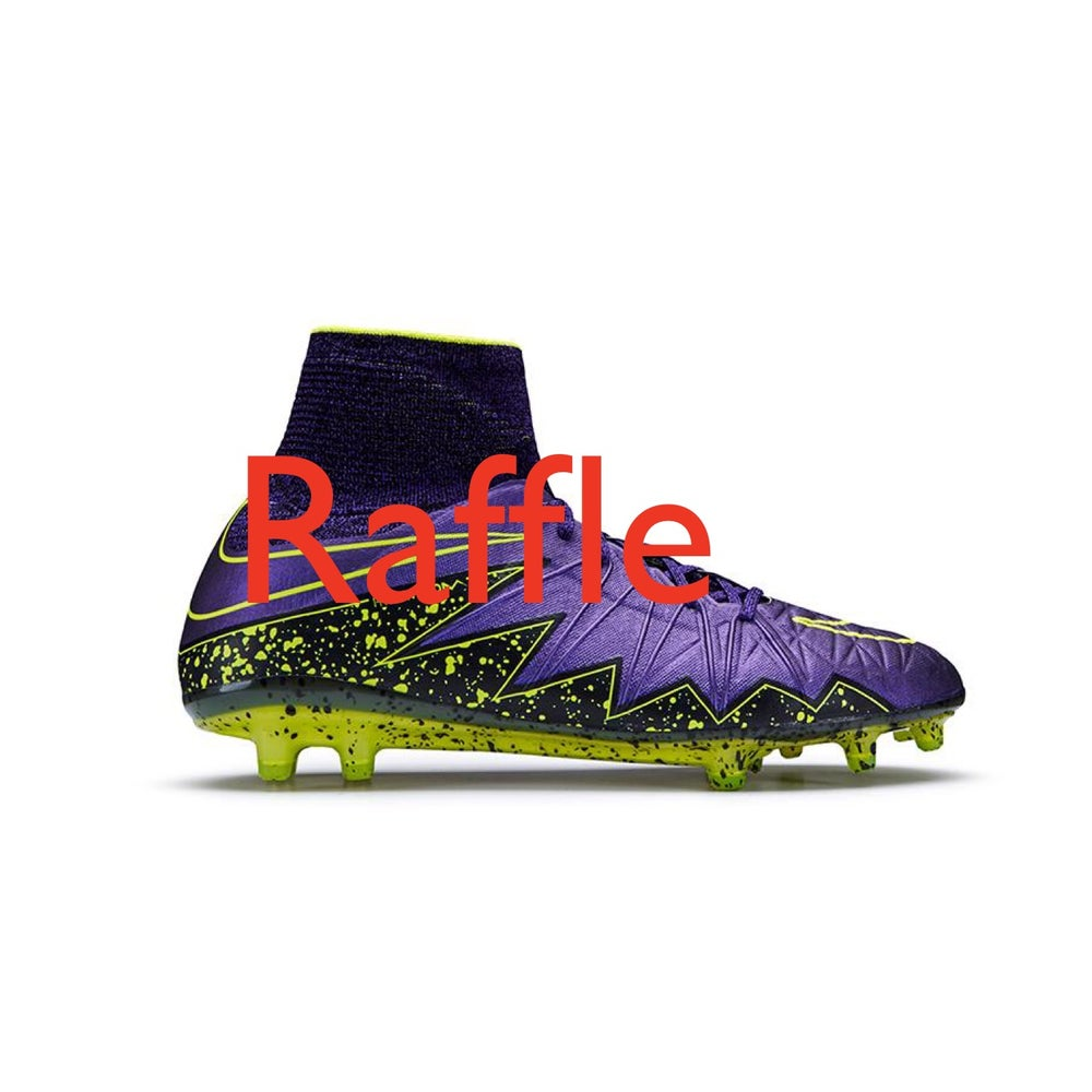 low cost 13f61 0a835 Nike Hypervenom Phantom II (Purple) RAFFLE TICKET