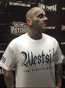 Image of WESTSIDE LOWPROFILE RECORDS T-SHIRT SUPER SALE