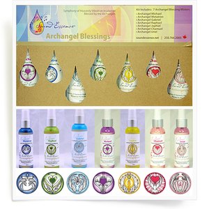 Image of Angel Blessings Kit Spray The Complete Collection Large 60ml
