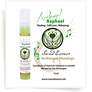 Image of Angel Blessing Spray for Archangel Raphael 60ml/15ml