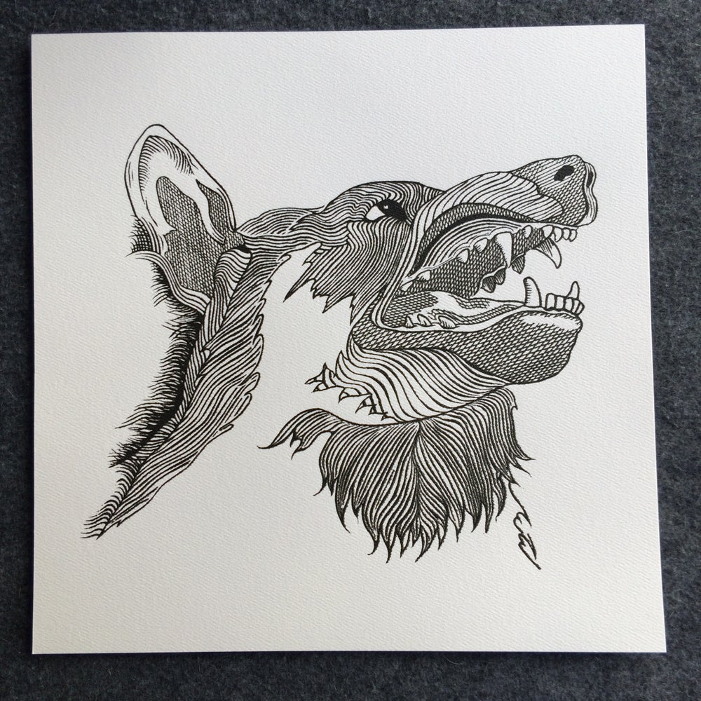Image of The Wolves They've Made Us AP print