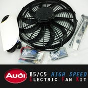 Image of PROJECTB5 - AUDI B5/C5 High-Speed Electric Fan Kit (EFK)