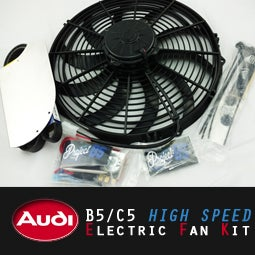 Image of PROJECT:B5 - AUDI B5/C5 High-Speed Electric Fan Kit (EFK)