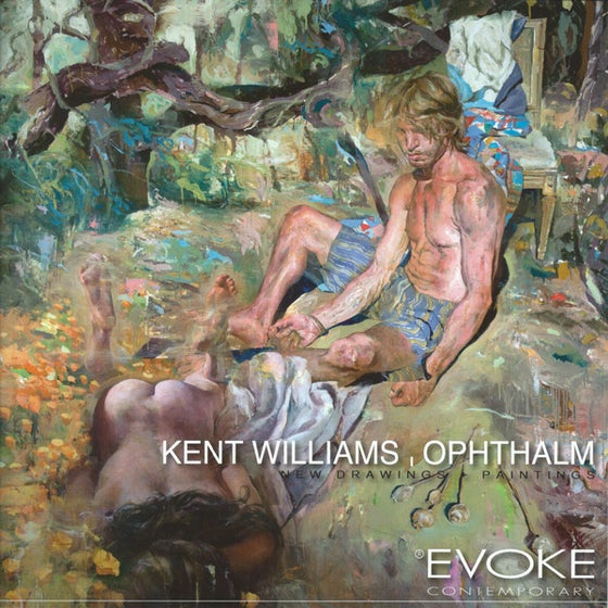 Image of Kent Williams, Ophthalm, New Drawings + Paintings
