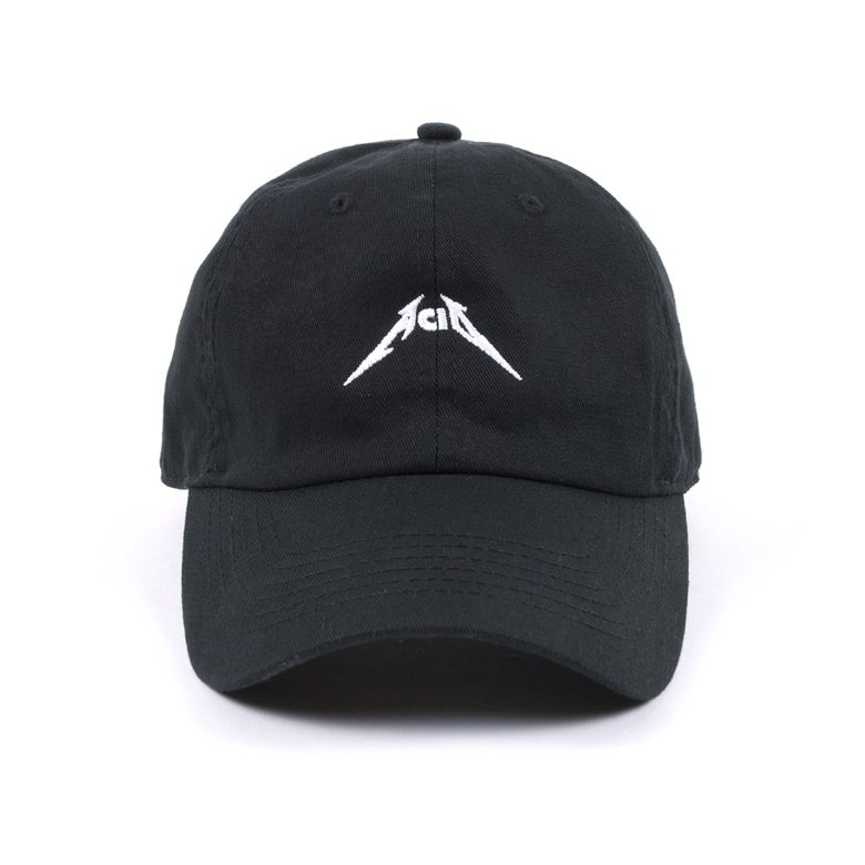 Image of  Acid Low Profile Sports Cap - Black/White