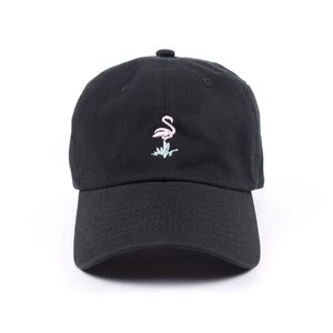 Image of  Flamingo Low Profile Sports Cap - Black