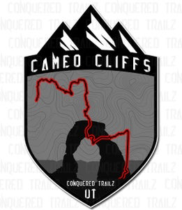 "Image of ""Cameo Cliffs"" Trail Badge"