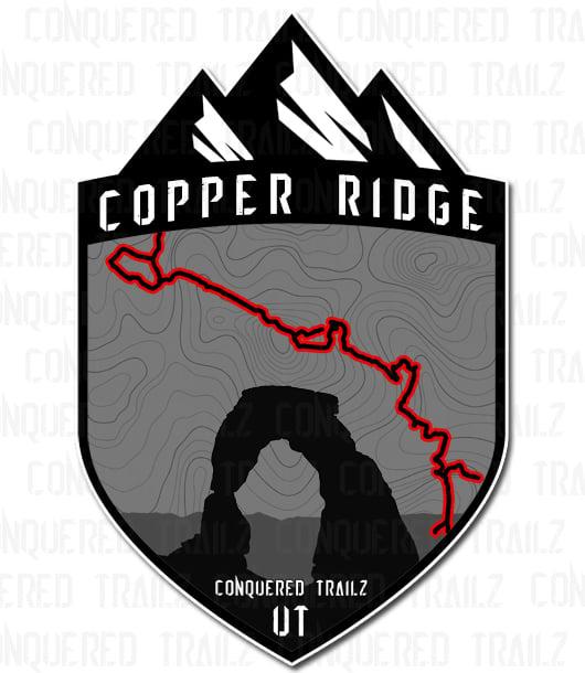 "Image of ""Copper Ridge"" Trail Badge"
