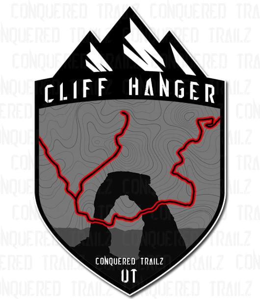 "Image of ""Cliff Hanger"" Trail Badge"
