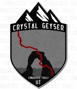 "Image of ""Crystal Geyser"" Trail Badge"