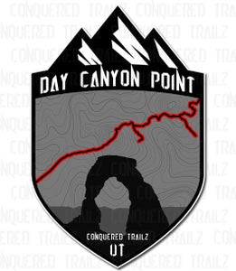 "Image of ""Day Canyon Point"" Trail Badge"