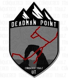 "Image of ""Deadman Point"" Trail Badge"