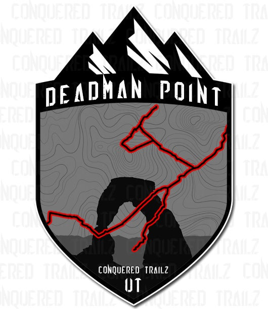 """Image of """"Deadman Point"""" Trail Badge"""