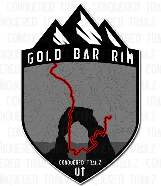 "Image of ""Gold Bar Rim"" Trail Badge"