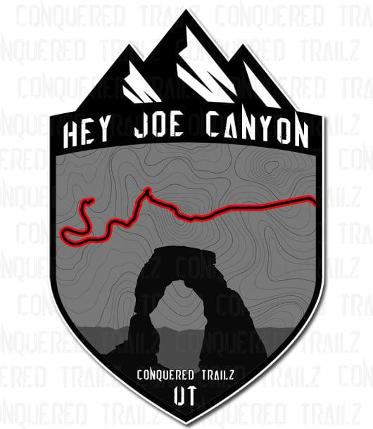 "Image of ""Hey Joe Canyon"" Trail Badge"