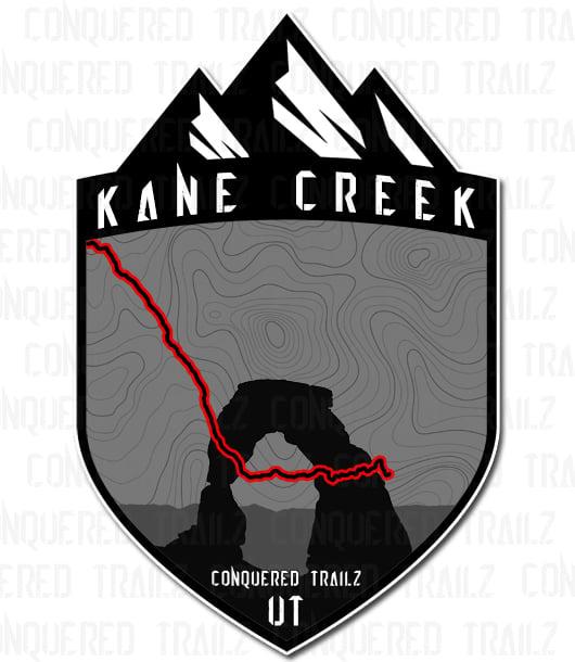 """Image of """"Kane Creek"""" Trail Badge"""