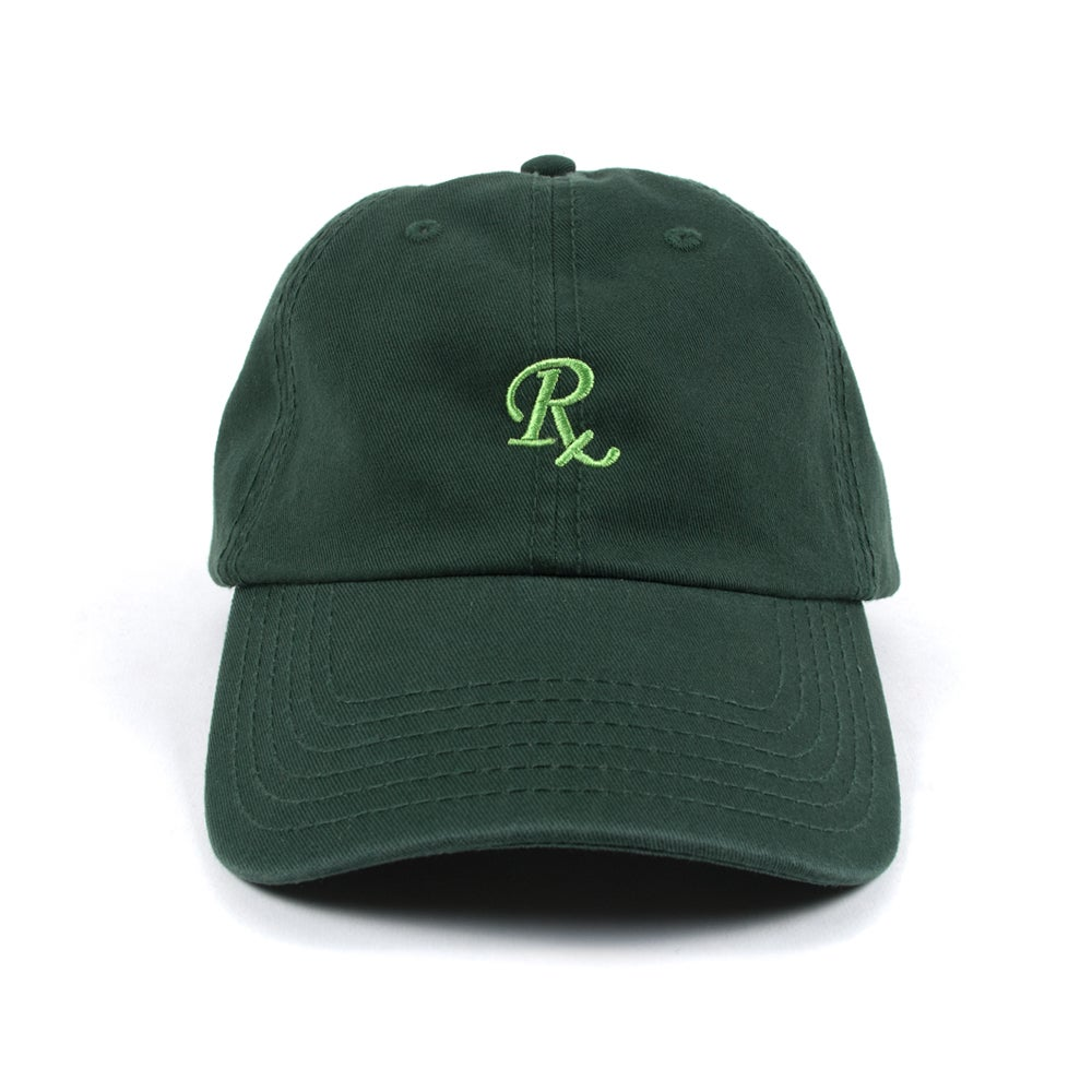 Image of  RX Low Profile Sports Cap - Hunter Green