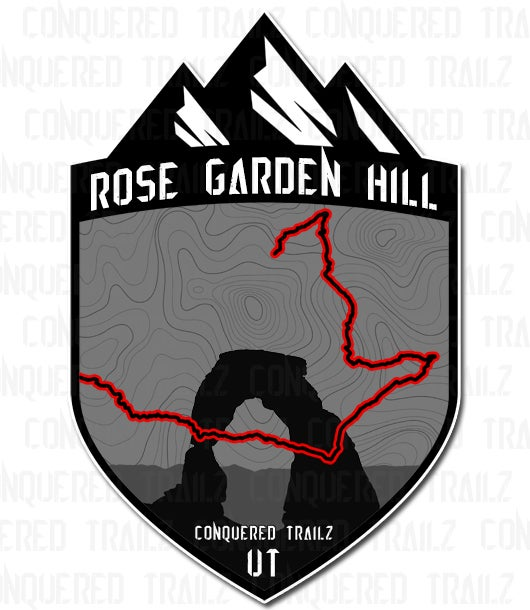 "Image of ""Rose Garden Hill"" Trail Badge"