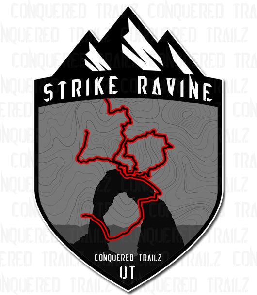 "Image of ""Strike Ravine"" Trail Badge"