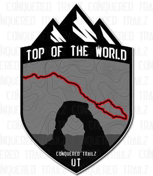 "Image of ""Top Of The World"" Trail Badge"