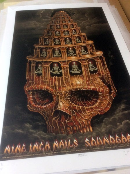 "Image of NIN/Sound Garden ""Head like a blackhole sun"" by EMEK"