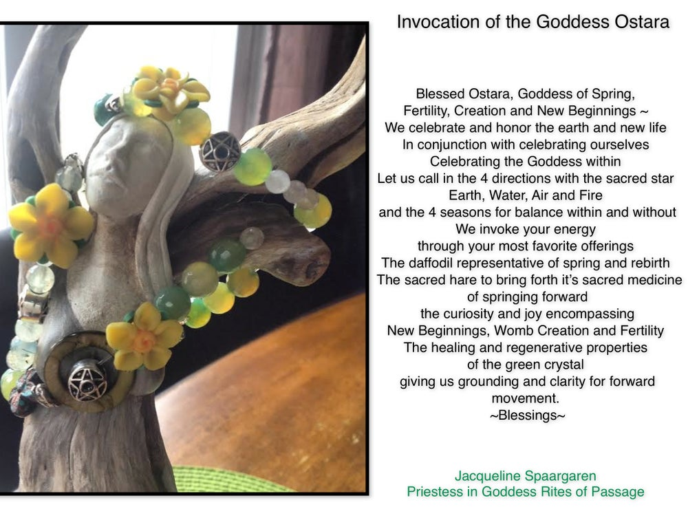 Image of The Goddess Ostara ~ Invoking the Energy of New Beginnings <3