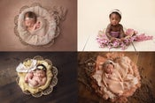 Image of Dream Catcher Bowl - The ORIGINAL - Organic Style - Newborn & Sitter - FREE SHIPPING w/in US!
