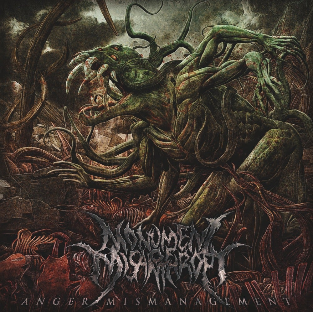 "Image of MONUMENT OF MISANTHROPY - ""ANGER MISMANAGEMENT"" CD"