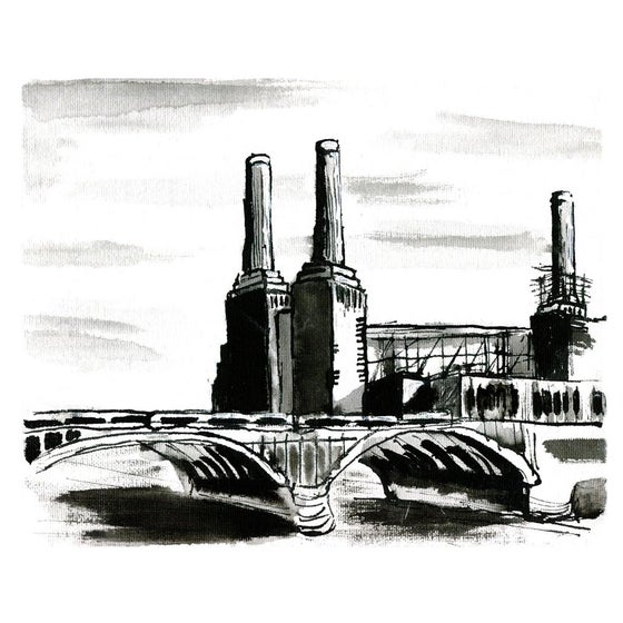 Image of 'Battersea Power Station' by Rebecca Hunter