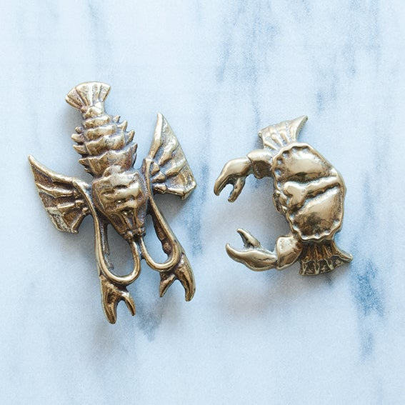 Image of Brass Lobster or Crab