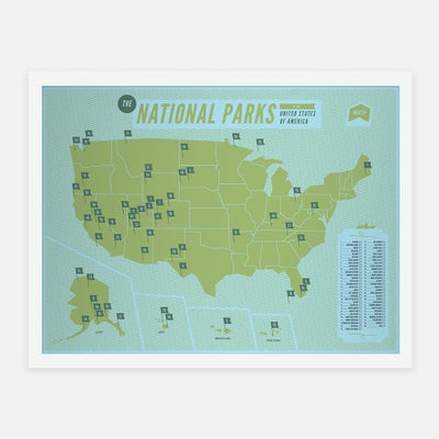 NATIONAL PARKS - Sorry.