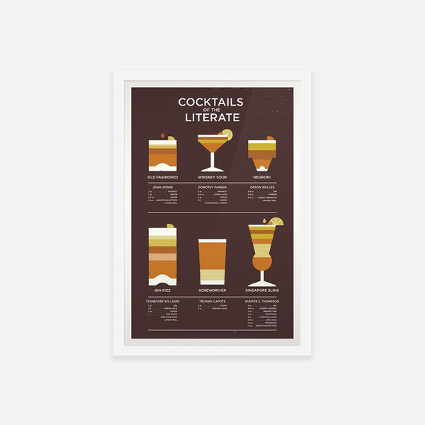COCKTAILS OF THE LITERATE OG - Sorry.
