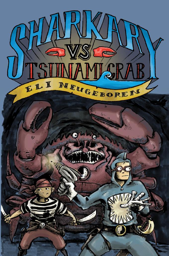 Image of Sharkary vs Tsunami Crab