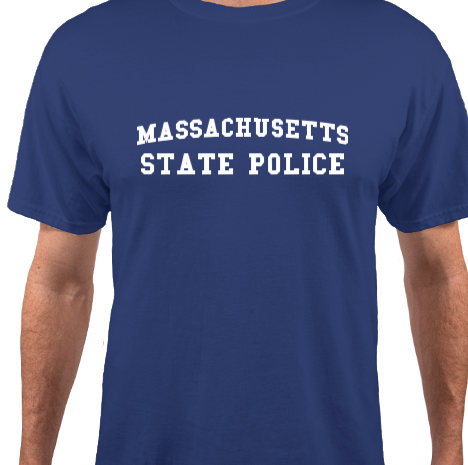 Image of Mass State Police Tee