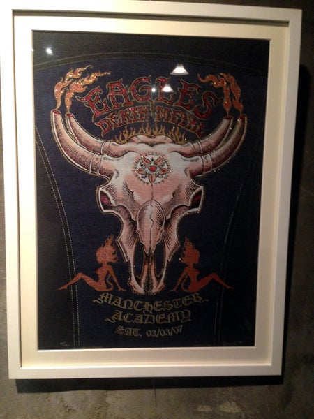 "Image of EODM ""Cow Skull"" Denim by EMEK"