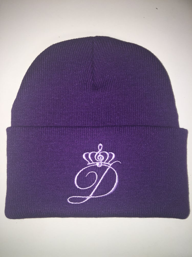 Image of Davina's Logo Beanies (Color options in drop dow menu OR EMAIL TO REQUEST)