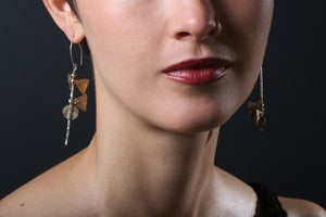 Image of Asymmetrical Kite Earrings