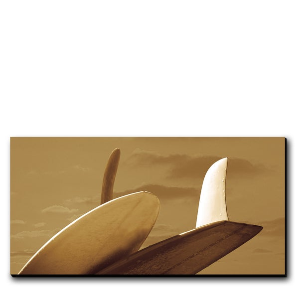 Image of FINS OF SANO  - (Metal or Canvas)